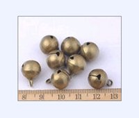 Wholesale mm Brass Jingle Bells Beads Making Bells Charms Pendant