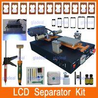 semi automatic - Built in Vacuum Pump Semi Automatic LCD Separator Machine Tool Kit Touch Screen Repair For iPhone Samsung