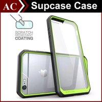 Pare-Chocs TPU Transparent Étui Hybride pour iPhone 5 5S 6 6S Plus S6 Edge Plus Note 5 Note5 Couvercle Clear Unicorn Beetle Premium