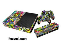 Cheap Hoonigan 0106 Fashion Skin Decal For Xbox one Console and 2PCS Xbox one Controller Skins Stickers