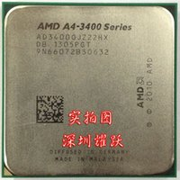 Wholesale AMD A4 CPU scattered pieces G dual core APU FM1 interface has a4