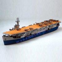 battleship cards - Paper Model Ships US escort aircraft carrier CARD CM Long d puzzle battleship Military diy papercraft