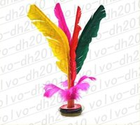 Wholesale LLFA1898 Sports Fitting Colors Chinese Jianzi Shuttlecock Toy
