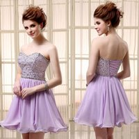 Cheap Reference Images Homecoming Dresses Best Chiffon Sweetheart 2014