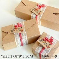 Wholesale 2015 Freeshipping New Selling Cardboard Box Caixa Macaron Packaging Kraft Paper Boxes Jewelry Cake Gift set cm A2