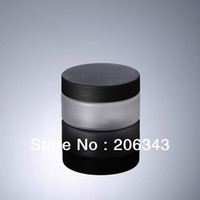 Wholesale 100G frosted PET cream bottle cosmetic container cream jar Cosmetic Jar Cosmetic Packaging