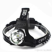Wholesale Hot sale T6 W LED Headlamps The latest focus zoom T6 W LED headlamp glare miner climbing power hiking headlamps