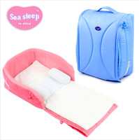 Wholesale Yayabb Newborn baby Cradles Crib infant safety Portable folding bed cot playpens bed child confort station for months