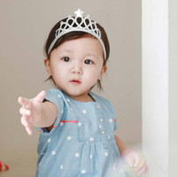 Wholesale 6 Pc Girls Princess Headbands Baby Headwear Hair Bands Bow Crown Toddler Kids Hair Accessories