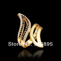 angle bar sizes - FG Size New Arrival K Gold Plated Tin Alloy Angle Wing Ring