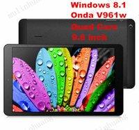 Cheap Windows 8.1 Intel Onda V961w Tablet PC Bay Trail-T Z3735F Quad Core 64Bit 1.83GHz 2GB RAM 32GB ROM HD IPS 1280*800 Retail DHL Free Shipping