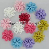 baby hair accessories apparel - xayakids EMS Wholeasale1000pcs High Quality Fabric Hair Flowers For Baby Girls Infant Newborn Apparel Hair Accessories HH