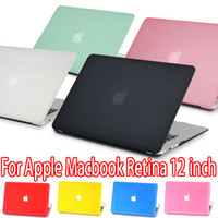 apple mackbook - DHL Apple quot Mackbook Air Matte Frosted Translucent Hard PC Case Cover Proteive Sleeve Shell For Apple Macbook Retina quot Laptop Notebook