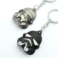 Wholesale 2016 Star Wars black knight Dark Warrior Darth Vader Keychain Hot Cartoon Movie key ring toys Zinc Alloy Keychains Key Chain