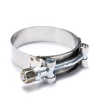 Wholesale 1 Stainless Steel T Bolt TBolt Clamp Turbo Down pipe Intake order lt no track