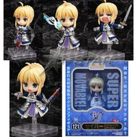 121 - Cute quot Nendoroid Fate Stay Night Saber Lily Boxed PVC Action Figure Collection Model Toy Gift