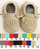 Wholesale Leather Baby Moccasins Shoes Slippers Pink Handmade All Sizes