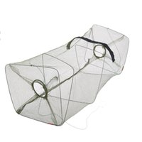 cast net - 50 cm Foldable Nylon Fishing Net Floding Crab Fish Crawdad Shrimp Minnow Fishing Bait Trap Cast Dip Net Cage Y0346