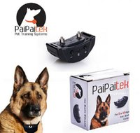 Wholesale 100pcs New Arrival Electric Shock Anti Bark Dog Collar No Barking Pet Training Control Trainer Pet Auto Anti Bark training Collar