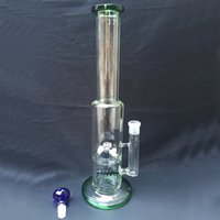 Straight Type america water - Hot sell In America Europe Glass Bong With Mini windmill wheel Percolator And Bowl Dome Oil Rig Glass Water Pipe Hookah Pipe