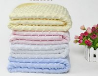 baby minky blanket - 2016 infant baby chevron minky blanket knitting X100cm shower gift baby cotton blanket minky dot mink children super soft blanket