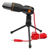 Wholesale Pro Condenser Sound Podcast Studio Microphone For PC Laptop Skype MSN tripod