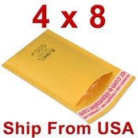 Wholesale quot x8 quot mm mm Golden Kraft Self Seal Bubble Mailer Envelope Air Bubble Shipping Bag