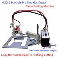 600mmX200mm automatic gas cutter - Shanghai HUAWEI KMQ Automatic Profiling Gas Cutter Flame Cutting Machine Copy Model Shape to Profiling Cutting Waist Circle