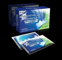 Wholesale 30 Hot PRO Degree Advanced Dental Teeth Whitening Kit Enamel White Strips RRP Dental Teeth Whitening Strip Whitestrip