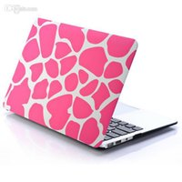Wholesale New Pattern Design Matte Rubberized Matte Hard Funda Case Cut out Cover for MacBook AIR quot PRO Retina