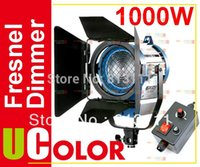 Wholesale 1000W Tungsten Fresnel with Dimmer Control Video Spotlight Continuous Lighting Lighting