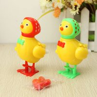 chicken run - Wholesales Gift Chain Small Chicken Toys Chicken Run Wind Up Toys Yiwu Cheap Toy Christmas Gifts Two Colors