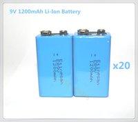 Wholesale 20PCS High power capacity Etinesan V mAh li ion Battery Smoke Alarms Wireless Cameras Wireless Mics Battery