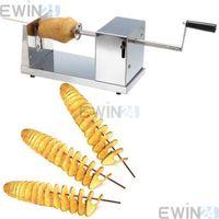 Wholesale Potato Slicer Make mm thickness tornado potato Easy Operation Full Stainless Steel Durable Using Slicers