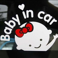 auto sticker baby - Cute Girl Baby on Board quot Baby in car quot Window Car Sticker Auto Truck Vinyl Decal