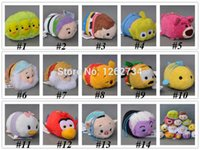 Wholesale Genuine Woody Buzze Bear Alien Dwarf Donald Duck Pig Tsum Tsum Plush Toys Smartphone Cleaner Kids Gifts quot