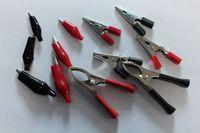 Wholesale The new high Large medium small alligator clip sheath test clip clip clip Power