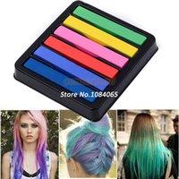 Wholesale hair Colors hair color Pastel Stick Vermicelli hair chalk Brush Hair Chalk SV000202