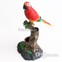 Wholesale New Arrival set learning to speak parrot singing birds voice control talking electronic pet recording simulation