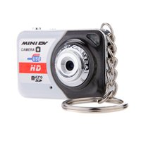 Wholesale X6 Portable Ultra Mini HD High Denifition Digital Camera Mini DV Support GB TF Card with Mic Mini Camcorders