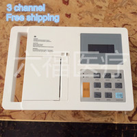 Wholesale channel ecg EKG Electrocardiograph Portable ECG Machine with channels ECG Monitor LCD Display