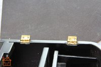Wholesale Top sale Cabinet Closet Mini Hinge for Dollhouse Miniature Furniture Golden