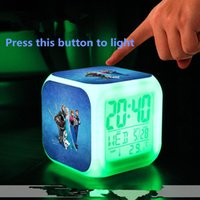 Wholesale Carton New LED Change Digital Alarm Clock Includ Color