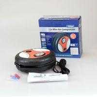 auto accessory garage - Mini Portable V Car Auto Air Compressor Pump Electric Tire Inflater Inflatable Pumps Ideal Car Garage Accessory