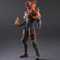 abs pain - New Square Enix Action Figure Toys METAL GEAR SOLID V THE PHANTOM PAIN KAI Man On Fire Toys Gift