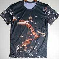 basketball tee shirt designs - High Quality Mens T Shirts Basketball Player Cool Summer D Design Tshirts Bodybuilding Crew Neck Short Sleeve T shirt Tee Tops