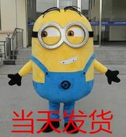Costume Cartoon Minions Mascot Describle moi Adulte Fancy Dress Chirstmas Outfit