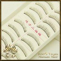 Wholesale New Pair Thick Long False Eyelashes Eyelash Eye Lashes Voluminous cheap price