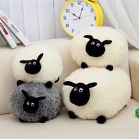 sheep plush - New cute Stuffed Soft Plush Toys Sheep Character Kids Toy clever gift E6728