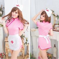 sexy nurse uniform - 2015 pink sexy nurse uniform costume woman sexy cosplay sexy costumes for women clubwear sexy costumes zentai maid sexy corset